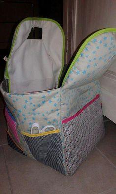 Le sac à couture pour ma cousine Romane