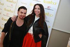 Lorena wearing Joshua Fenu shoes with Joshua Fenu #lorenabaricalla #LB