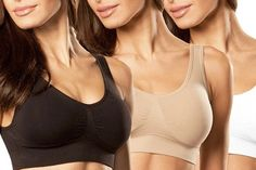 Three Pack Seamless #Undergarments in Choice of Colour from AED 69. For more, please follow http://fabbydeals.com/AED-69-for-one-Classic-Collection-Three-Pack#.Vb2t7fmqqko