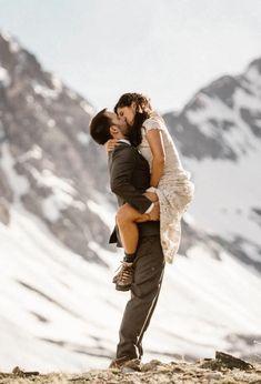 Mountain Elopement photography by Adventure Instead via @onreact Couple Posing, Couple Photos, Mountain Elopement, Happy People, Intimate Weddings, Pacific Northwest, Colorado, Wedding Inspiration, Adventure