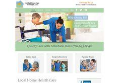 Customize Home Care to Fit Your Needs Bathing, Dressing & more. Surgery Recovery, Portfolio Web Design, Home Health Care, Simulation Games, Special Needs, Georgia, Marketing, Business, Ideas