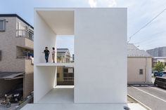 This Tokyo Residence Fits a Large Terrace Within a Not-so-Large House