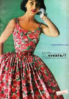 https://www.google.com/search?q=50s summer dress and gloves