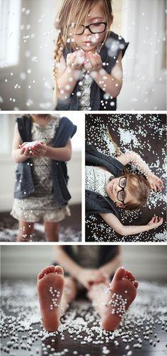 Winter Photo Session Idea / Holiday Card Idea / Prop Ideas / Props / Child Photography / Christmas mini ideas! :)