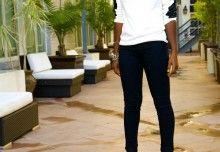 Style Pantry | White Button Down Shirt + High Waist Maxi Skirt