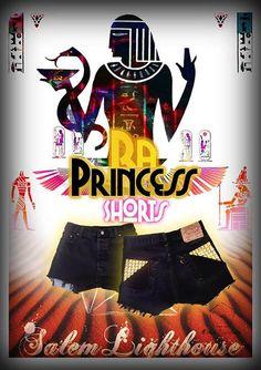 #Salemlighthouse #Princess #Egypy #Vintage #Customized #Shorts