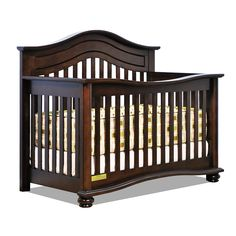 "Jordana Lia Convertible Crib - Espresso - Baby Mile - Babies ""R"" Us"