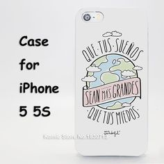 mr wonderful hard transparent clear Cover Case for iPhone SE 4 4s 5 5s 5c 6 6s Plus