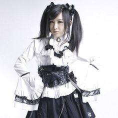 Punk Visual kera dolly Gothic lolita shirt top Y213W