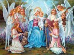 JEZUS en MARIA Groep.: GEBOORTE VAN MARIA: