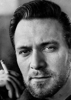 "Highly esteemed stage and movie actor Christopher Plummer (circa 1965) looking good with a beard.  No wonder the women fell in love with him back then as Captain von Trapp in ""The Sound of Music"""
