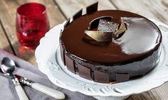 Αν αγαπάς τη σοκολάτα Lacta, καμία άλλη τούρτα με σοκολάτα δεν θα σου αρέσει περισσότερο από αυτή! Frozen Yogurt, Sorbet, Ice Cream, Cake, Desserts, Food, Beauty, No Churn Ice Cream, Tailgate Desserts