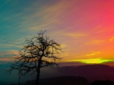 'Ein Sonnenuntergang am Land' by Patrick Jobst on artflakes.com as poster or art print $16.63