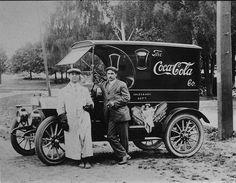 Coca cola vintage Delivery Truck
