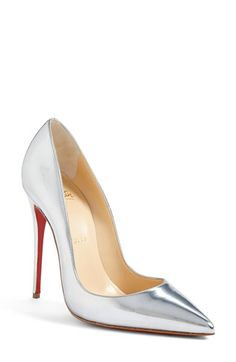 Christian Louboutin 'So Kate' Pointy Toe Pump (Women) Cute Shoes, Me Too Shoes, Christian Louboutin So Kate, Estilo Fashion, Hot Heels, Crazy Shoes, Beautiful Shoes, Women's Pumps, Designer Shoes