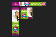 DESIGN EYE CATCHING BANNER AD FOR NUTRITION SCHOOL by MotiifDesign