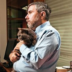 Paul Krugman. Total cat guy.