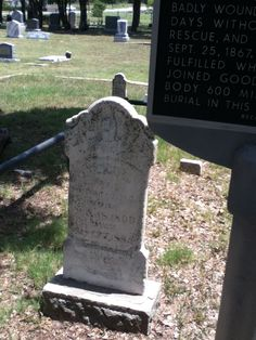 Oliver Loving's grave, Weatherford, Texas. When he was mortally wounded by Indians while on a cattle drive in New Mexico, his last request was to be brought back to Weatherford and buried. His friend Charles Goodnight transported his body 600 miles by wagon, which became the inspiration for Lonesome Dove.