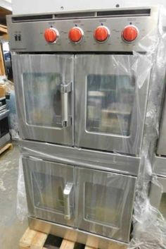 """AMERICAN RANGE DOUBLE FRENCH DOOR 30"""" ELECTRIC STAINLESS STEEL WALL OVEN #americanrange"""