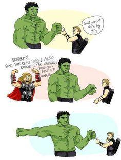 Hulk Bro Fist