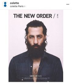 THE NEW ORDER VOL. 15 featuring @umitbenan is available now @colette #thenewordermagazine #theneworder #umitbenan #colette via @thenewordermagazine Instagram