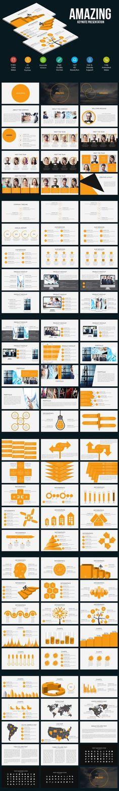 aqua minimal #keynote template v2 - creative keynote #templates, Powerpoint templates