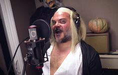 Jack Black in Tenacious D's cover of 'Time Warp' Kyle Gass, Angel Olsen, Donald Trump Face, Tenacious D, Karen O, Run The Jewels, The Rocky Horror Picture Show, Jamie Lee Curtis, Google Play Music