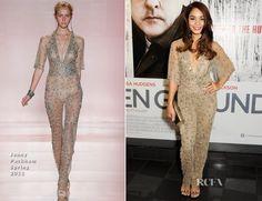 Vanessa Hudgens In Jenny Packham – 'The Frozen Ground' London Premiere