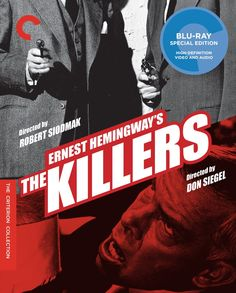 The Killers 1946 / The Killers 1964 - Blu-Ray (Criterion Region A) Release Date: July 7, 2015 (Amazon U.S.)