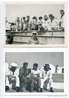 Sahara español, Álbum con 31 fotos mili de un soldado Compañía de Mar del Sahara en el lepanto - Foto 1