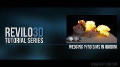 Revilo3d Tutorial Series: Wedging Pyro Sims In Houdini on Vimeo