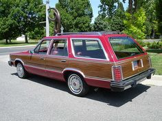 1982 Mercury Cougar Villager wagon | Flickr - Photo Sharing! Mercury Villager, Sweet Station, Mercury Cars, Lincoln Mercury, Old Fords, Ford Motor Company, Station Wagon, Car Show, Corvette