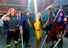 All of the Best Cosplayers from Melbourne Supanova 2016: X-Men Group Cosplay