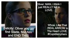 Can you feel the love tonight? #Olicity #Arrow