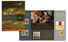 Art Gallery & Artist Brochure Template Design   StockLayouts