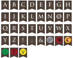 Printable Game of Thrones Party Banner ... Use by LLPapergoods
