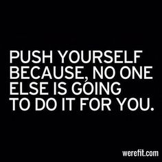 Push Yourself | We're Fit