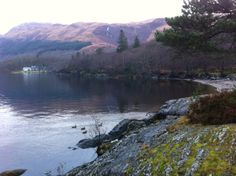 Rowardennan, Loch Lomond Side - West Highland Way.