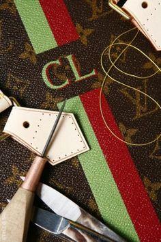 Louis Vuitton construction details