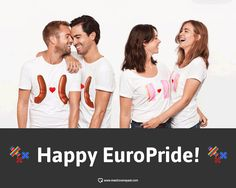 "Happy #EuroPride people! Get your ""gay""on and celebrate love! #Amsterdam #Hema #love #gayOK"