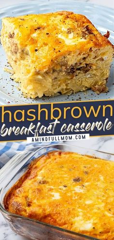 The BEST Hashbrown Breakfast Casserole is what you need for the holidays! It will only take you minutes to pull together this incredibly easy and versatile recipe. Whether made the night before or on Christmas morning, this delicious breakfast is always a crowd-pleaser! Easy Breakfast Casserole Recipes, Breakfast Casserole With Biscuits, Overnight Breakfast Casserole, Yummy Food, Tasty, Breakfast Time, Christmas Morning, Kitchen Recipes, Love Food