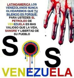 THE VENEZUELAN CIVIL SOCIETY FIGHTS ALONE AGAINST THE COMMUNIST MILITARY DICTADOR, WHO IS THE RUSSIAN & CUBAN PUPPET.   THE WORLD OBSERVES AND REMAINS SILENT:  THE RED HOLOCAUST OF THE XXI CENTURY