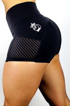 "Standout this summer with the new ""BQ Booties"". Amanda is excited to launch the brand new BootyQueen Shorts by popular demand. Amanda is wearing a black small in the pictures. Featuring the same high"