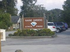 Ravine Gardens State Park, Palatka, FL This is where my Daughter Jennifer had her wedding some 15yrs ago!