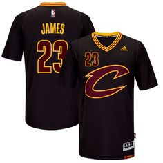 Men s Cleveland Cavaliers LeBron James  23. Black Player Swingman Jersey  S-2XL Kyrie 710c6c4ff