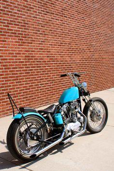 Up in Simi Valley/ Custom Harley-Davidson Ironhead Sportster XLCH