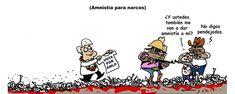 Amnistía para narcos