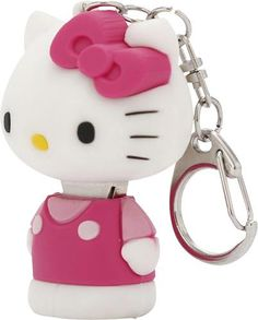 I totally want this!! Hello Kitty - 3D 8GB USB 2.0 Flash Drive - 462093DBB - Best Buy
