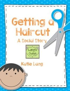 This is a social story to support students who have difficulty getting a hair cut at a salon or barber shop. Included in the story are things they may see or hear and some strategies (belly breathing, etc.) that they could do to help with their worries.