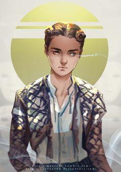Game of Thrones --- Arya Stark by HarryYong on DeviantArt